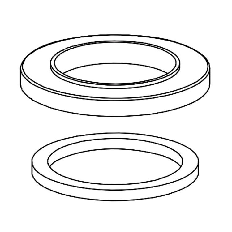 View 2 of Delta RP78366 Delta RP78366 Spout Flange and Gasket, Chrome