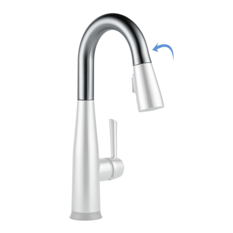 View 2 of Delta RP80521AR Delta RP80521AR ESSA Prep Faucet Spout Assembly -  Arctic Stainless