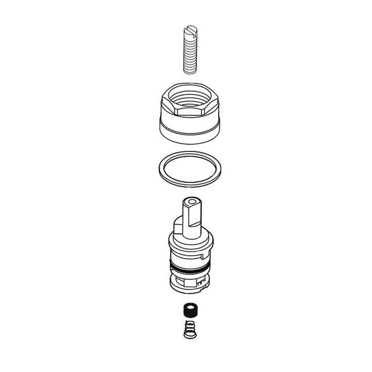 Delta RP81854 Delta RP81854 LORAIN Cartridge Assembly
