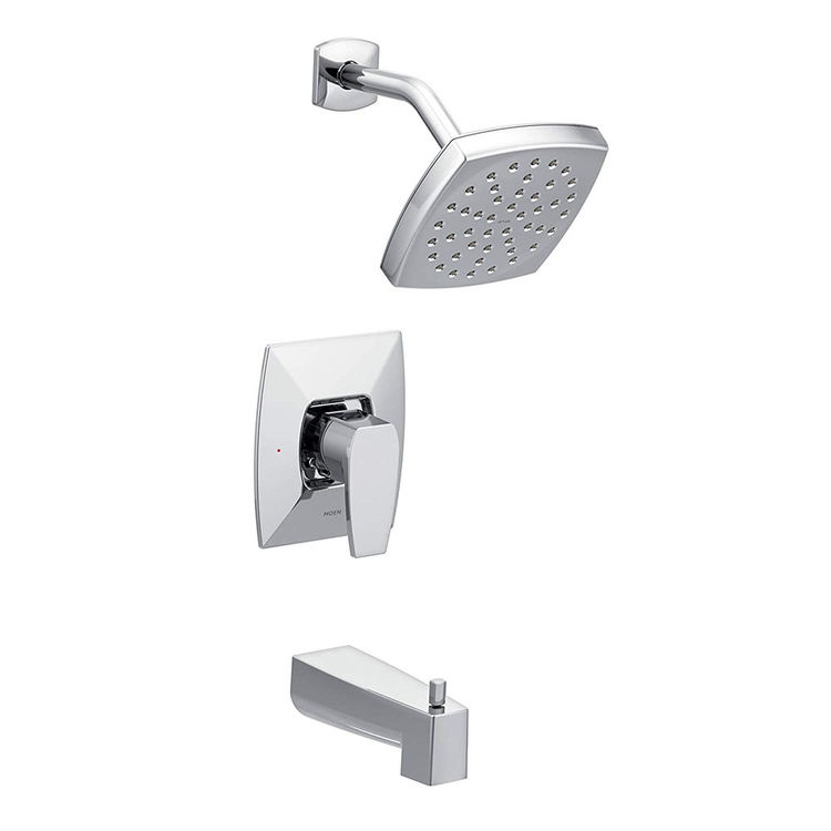 Moen TS8713 Moen TS8713 Via Posi-Temp Tub/Shower Trim, Chrome