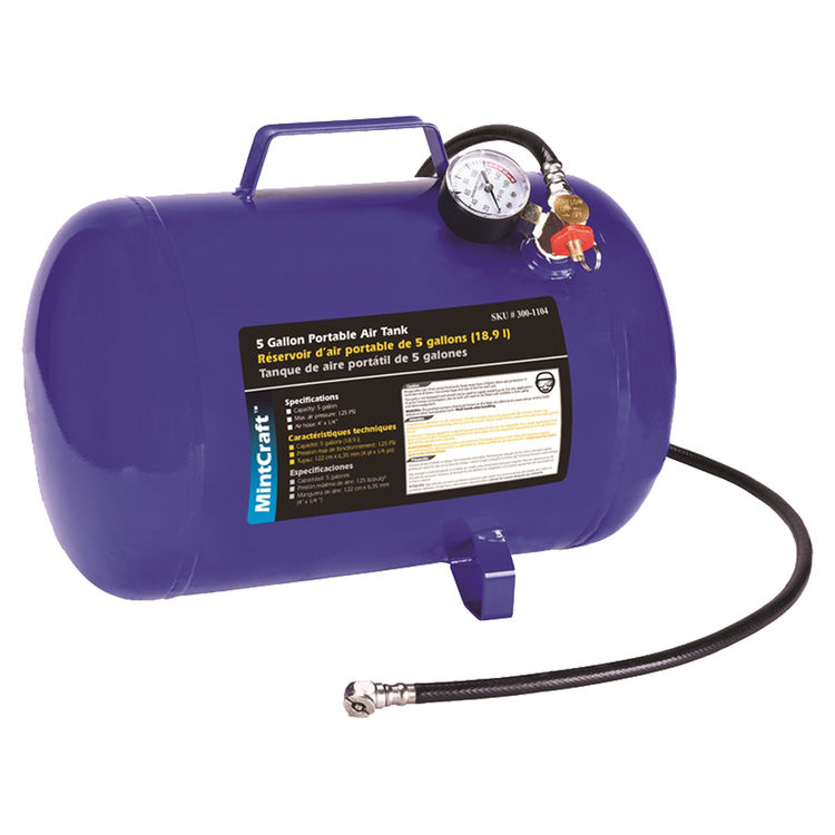 Pro Source AT05 Pro Source AT05 Mintcraft Air Tanks, Portable, 5 Gal