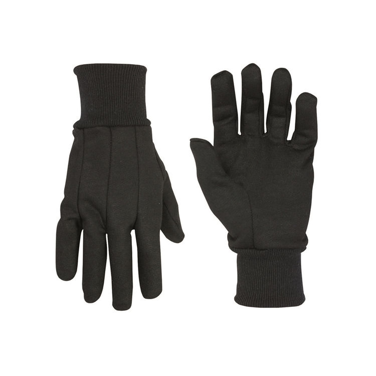 CLC 2011 CLC 2011 Black Jersey Work Gloves