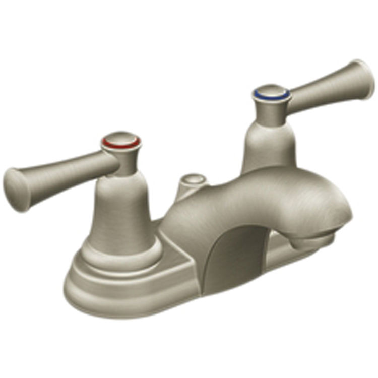 Cleveland Faucet 41213BN Moen CFG 41213BN Two Handle Bathroom Faucet