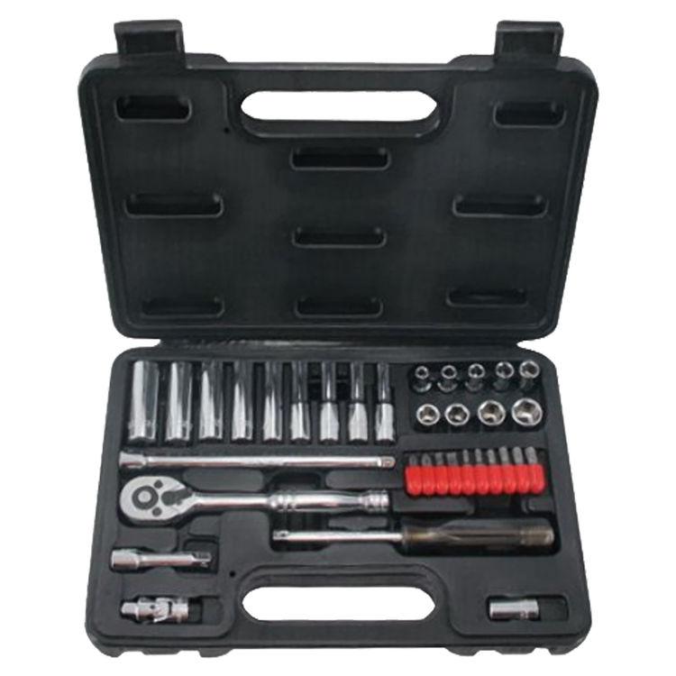 View 2 of Mintcraft TS1035 Mintcraft TS1035 Socket Wrench Sets, 35-Piece - Case of 1