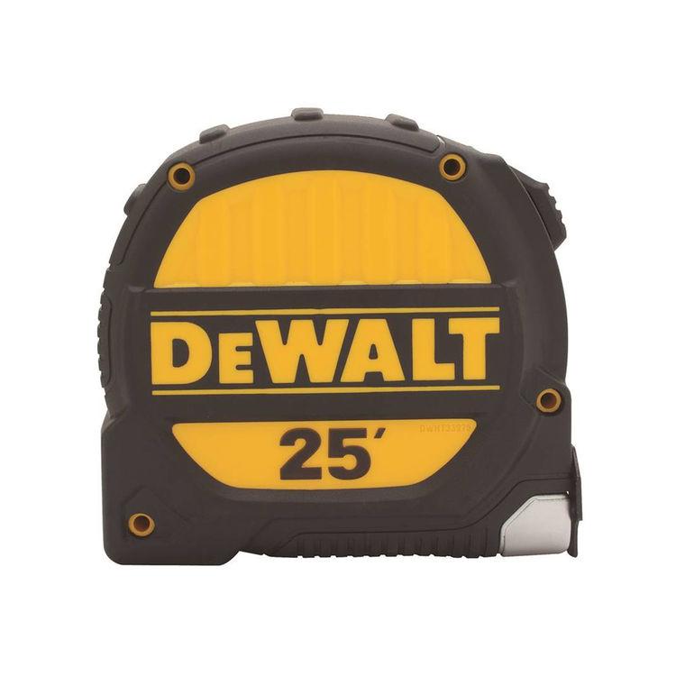 Stanley DWHT33975 DeWalt DWHT33924 Measuring Tape, 25ft x 1-1/4\