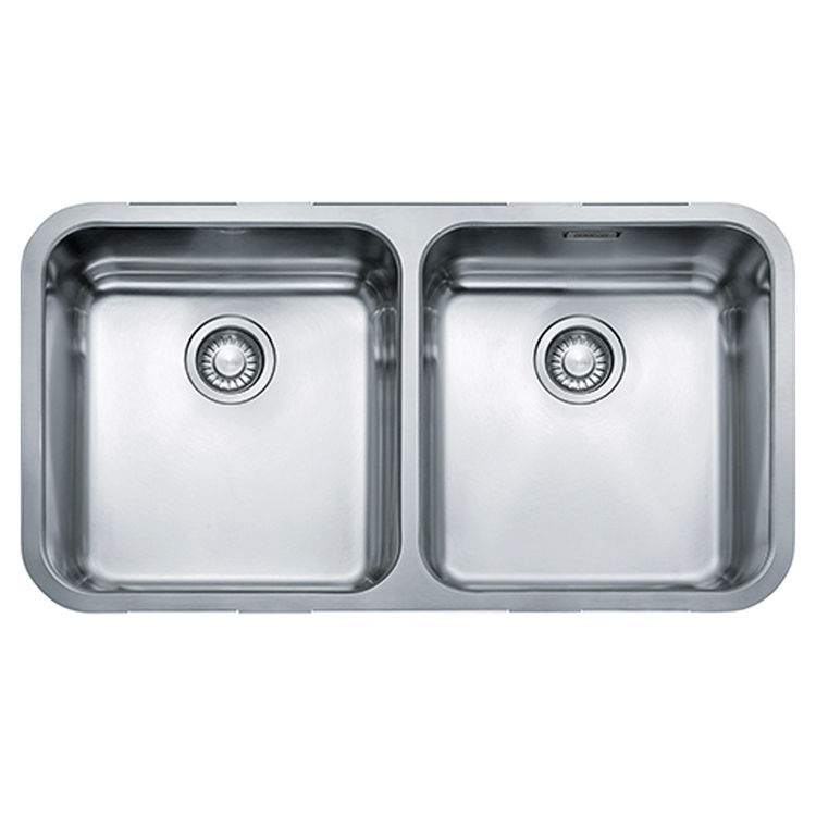 Franke LAX12031 Franke LAX12031 Double Bowl Undermount Stainless Undermount Sink - Stainless