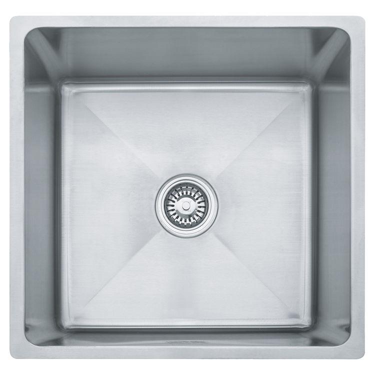 Franke PSX110199 Franke PSX110199 Single Bowl Undermount Stainless Undermount Sink - Stainless