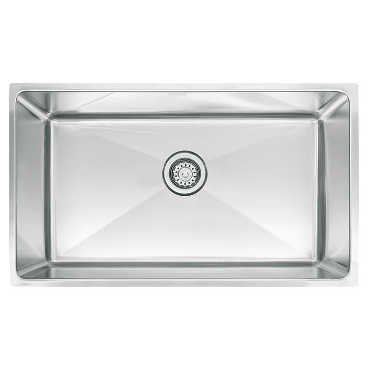 Franke PSX1103010 Franke PSX1103010 Single Bowl Undermount Stainless Undermount Sink - Stainless