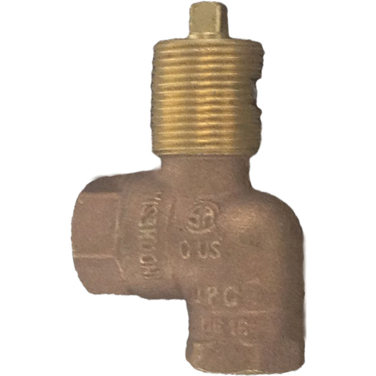 Gas Log Light Angle Valve