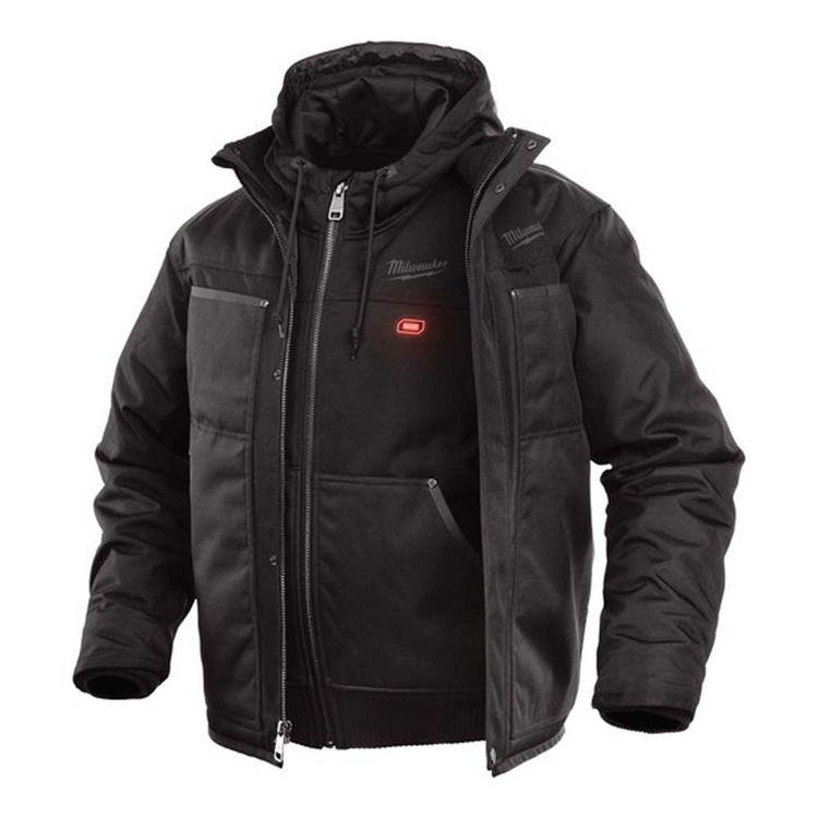 View 3 of Milwaukee 251B-21L MILWAUKEE 251B-21L M12 BLACK 3-IN-1 HEATED JACKET KIT LARGE
