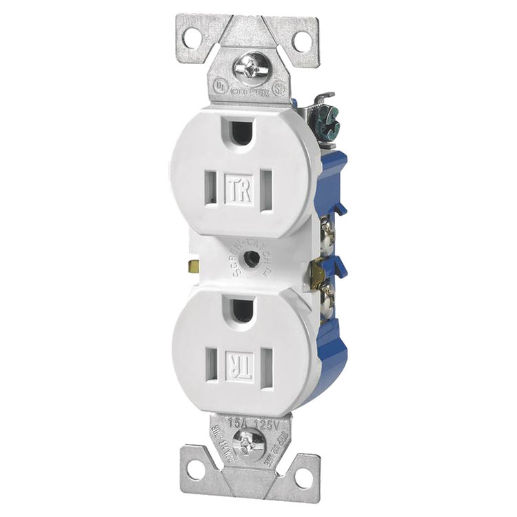 Cooper Wiring 4509box 3 Wire Grounded Straight Plug