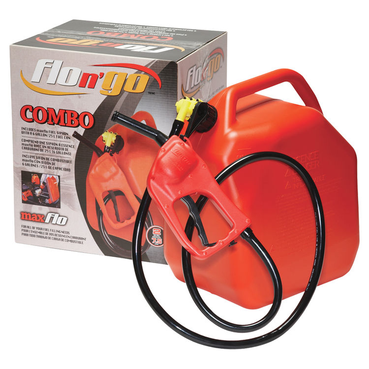 Flo N Go Maxflo 08341 Siphon Pump Combo 2 Gpm 43 In