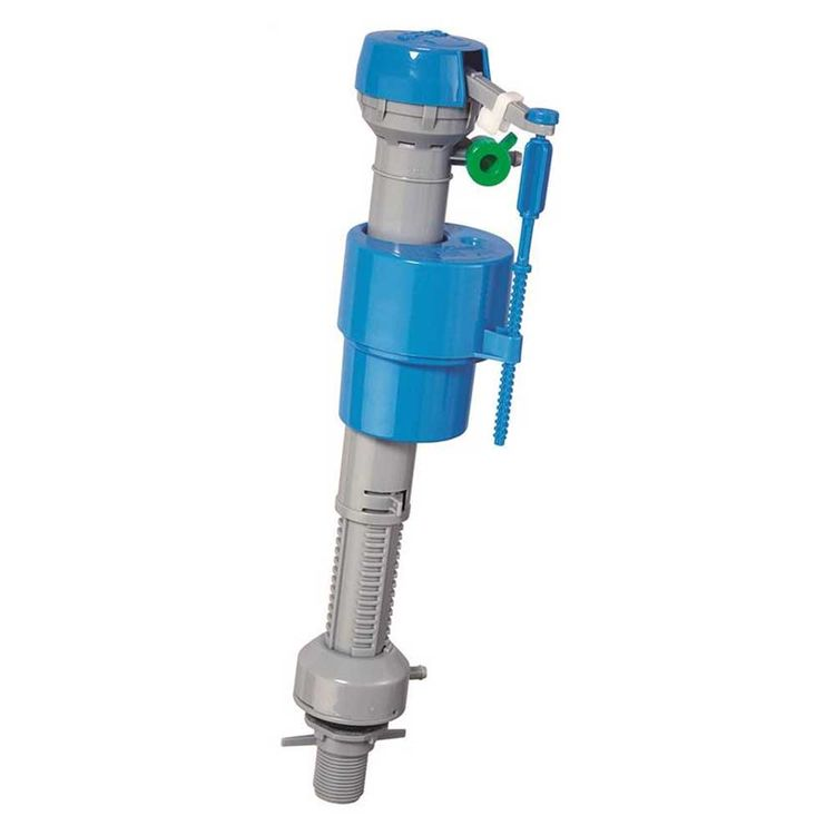 View 3 of Danco HC630T Danco HC630T Hydroclean Toilet Fill Valve, 3.3 in Length x 3.3 in Width x 12.8 in Height, ABS, Blue