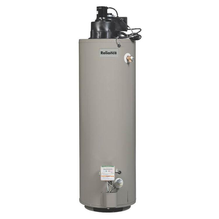 Reliance 6 50 Hrvit Power Vent Gas Water Heater 50000 Btu