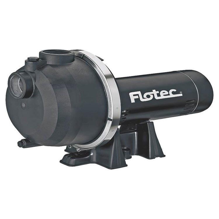Flotec FP5172-08 Flotec FP5172-08 Heavy Duty Self-Priming Sprinkler Pump, 1-1/2 hp, 1-1/2 in Inlet, 1-1/2 in Outlet, 115/230 V, 60 Hz