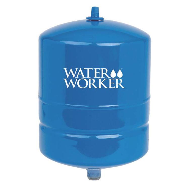 Water Worker HT-4B Water Worker HT-4B Vertical Pre-charged Well Tank, 4 gal, 3/4 in MNPT, 100 psi, Steel
