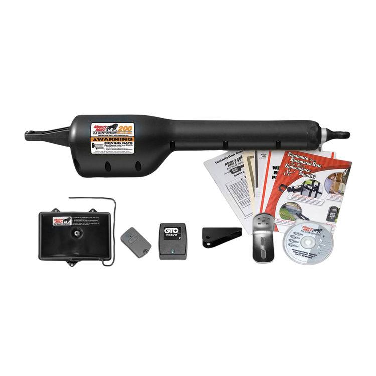 GTO FM200 GTO FM200 Single Swing Gate Opener Kit, 12 ft, 30 lb