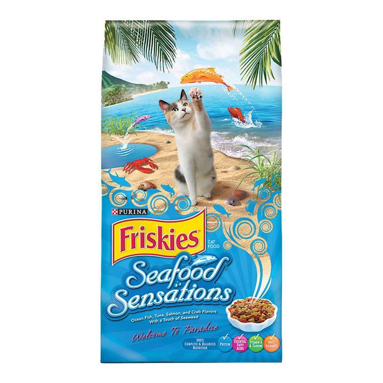 Purina 5000057577 Friskies Seafood Sensations 5000057577 Dry Cat Food