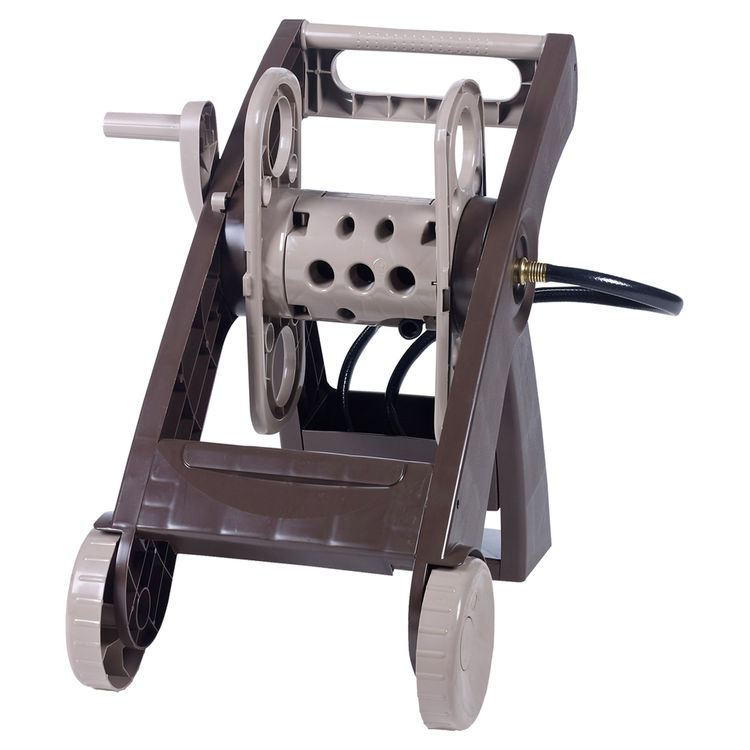 Ames 2385630B Ames 2385630B Hose Reel Cart, 5/8 in x 175 ft Hose, 20.07 in W x 29.04 in D x 25.53 in H, Poly