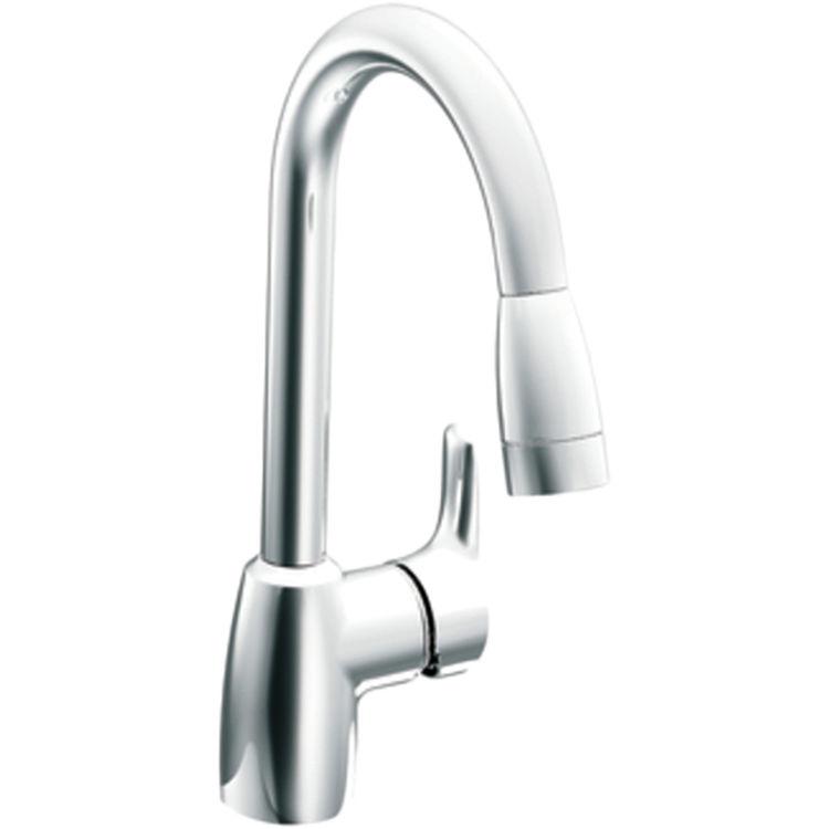 Moen Cfg 42519 Single Handle Pullout Kitchen Faucet