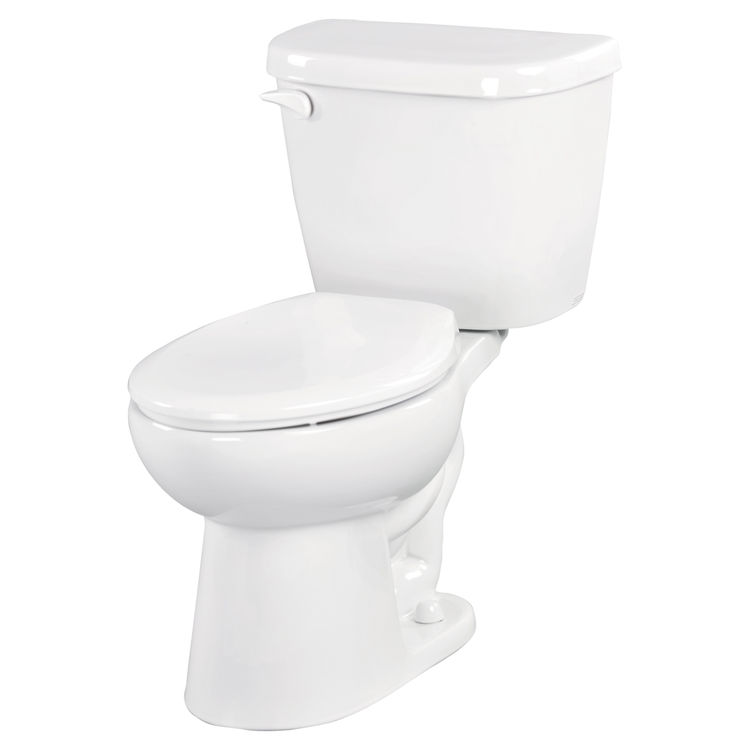 Gerber MX-21-412 Maxwell 12-Inch Rough-In Two-Piece Elongated Toilet