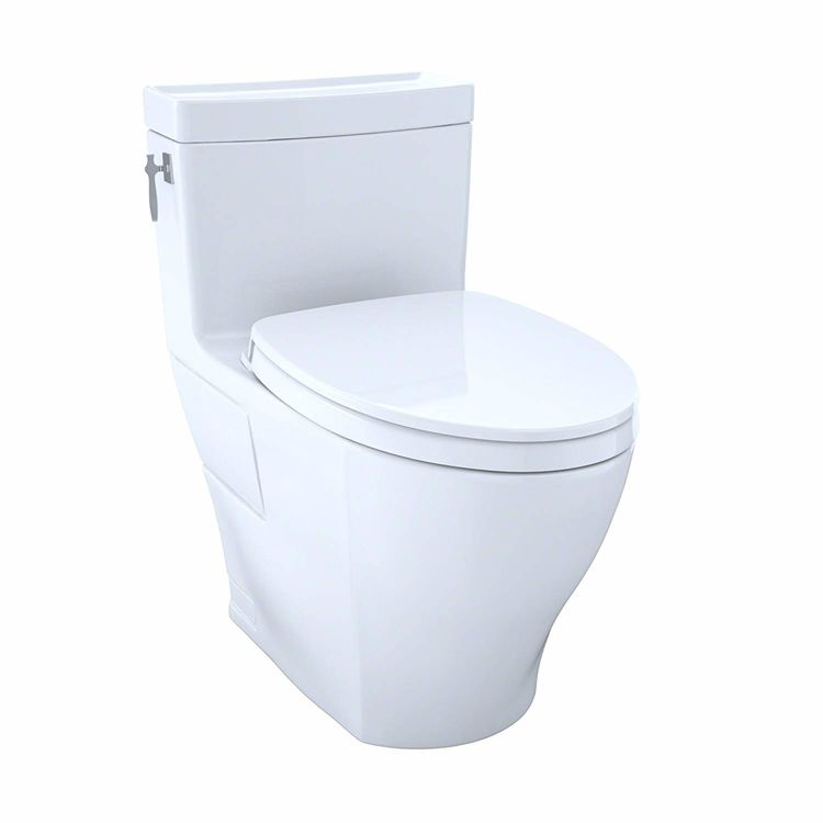 View 8 of Toto MS626124CEFG#11 Toto MS626124CEFG#11 Colonial White Aimes Elongated One-Piece Toilet