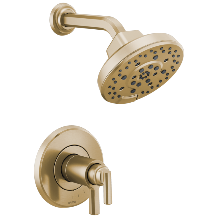 Brizo T60298-GL Brizo T60298-GL Levoir TempAssure Thermostatic Shower Only Trim - Luxe Gold
