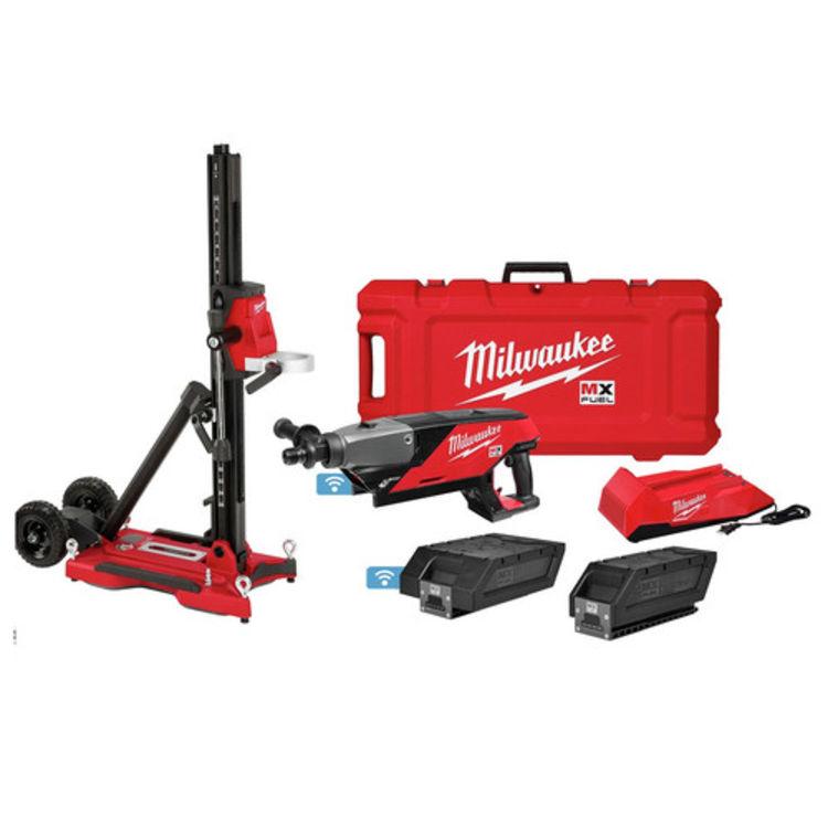 Milwaukee MXF301-2CXS Milwaukee MXF301-2CXS MX FUEL Handheld Core Drill Kit With Stand