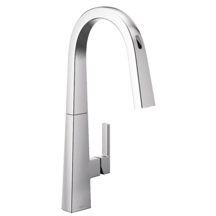 Moen S75005EVC Moen S75005EVC Nio One-Handle Voice-Activated Pulldown Kitchen Faucet - Chrome