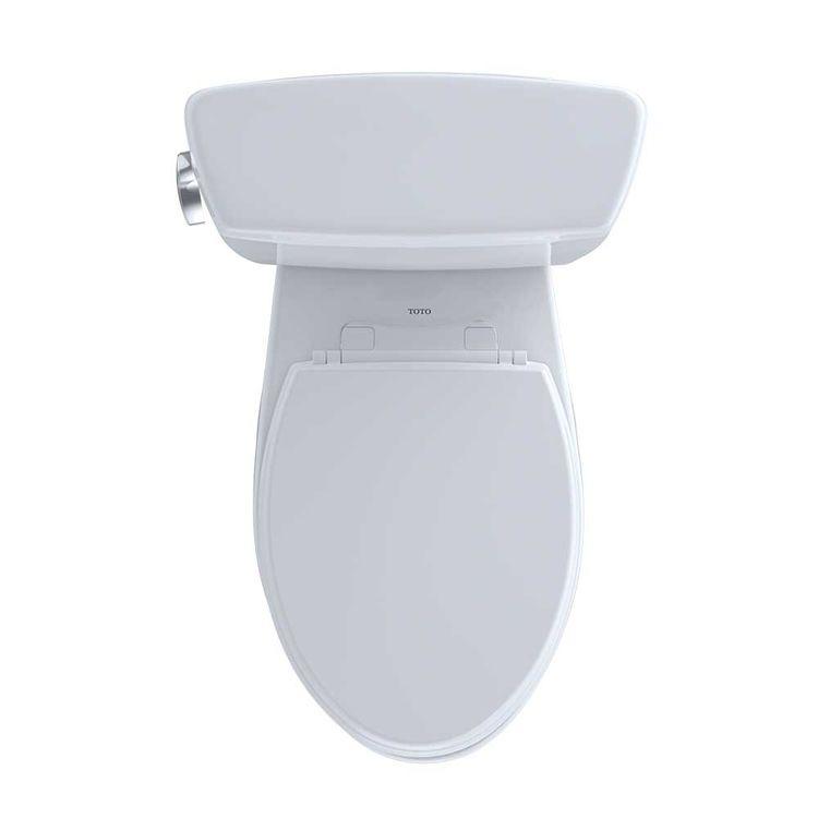 View 6 of Toto CST744S#01 TOTO Drake Two-Piece Toilet - 1.6 GPF , Elongated, Cotton White - TOTO CST744S#01