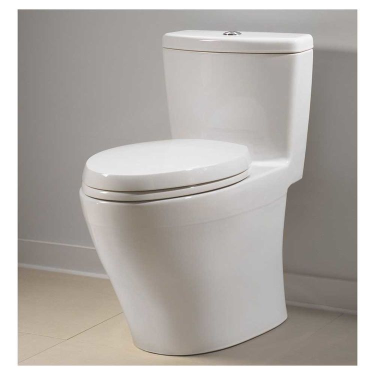View 8 of Toto MS654114MF#01 Toto MS654114MF#01 Aquia One-Piece Dual Flush Elongated Toilet, 1.6 GPF and 0.9 GPF - Cotton White