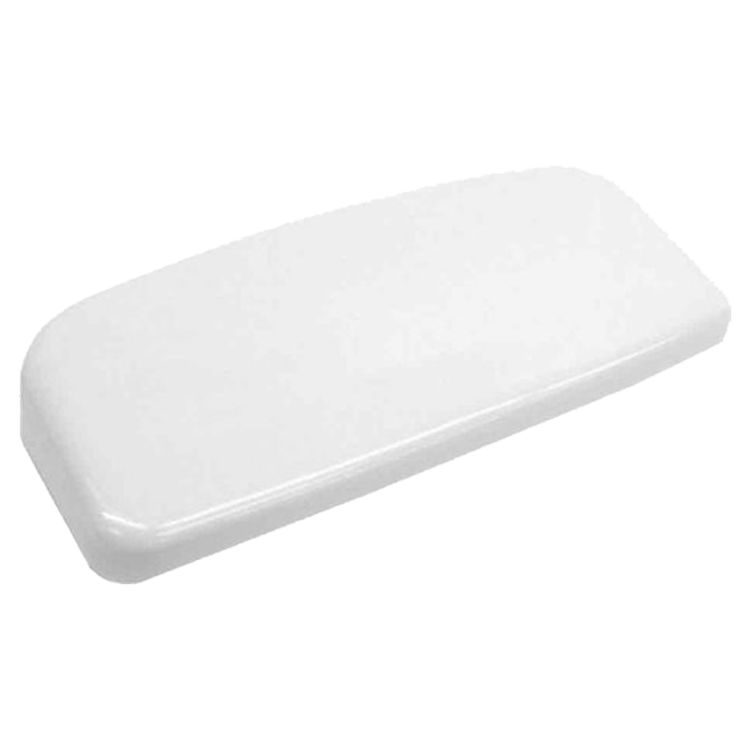 View 4 of Toto TCU454CRE#01 Toto TCU454CRE#01 Cotton White Toilet Tank Lid with Velcro Tape - Replacement