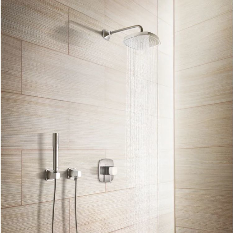 View 4 of Grohe 26037EN0 Grohe 26037EN0 Brushed Nickel Grandera Series 2.0 Gpm Hand Shower