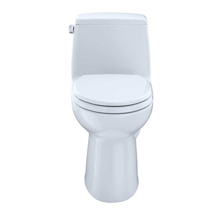 View 3 of Toto MS854114SL#01 TOTO UltraMax One-Piece Toilet - 1.6 GPF, Elongated, ADA, Cotton White - MS854114SL#01