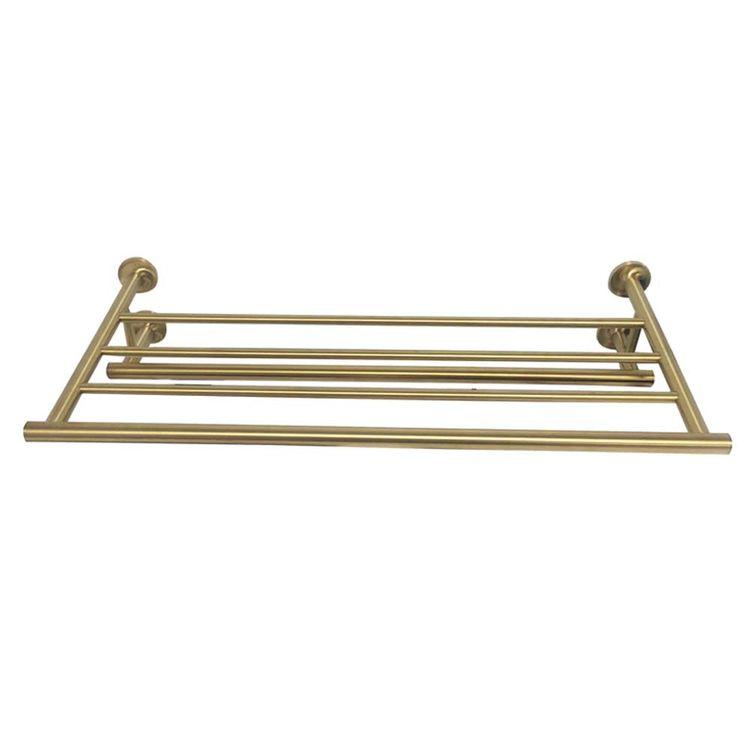 View 3 of Kohler 14381-BGD Kohler K-14381-BGD Purist Brushed Gold Towel Shelf
