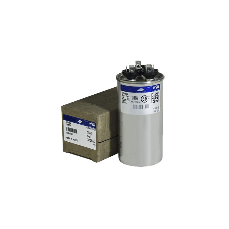 Partners Choice 01-0277 Partners Choice 01-0277 60/10/370 Round Dual Run Capacitor