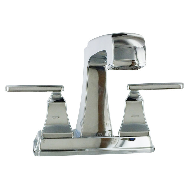 View 4 of Delta 2564-MPU-DST Delta 2564-MPU-DST Ashlyn Chrome Two-Handle Lavatory Faucet