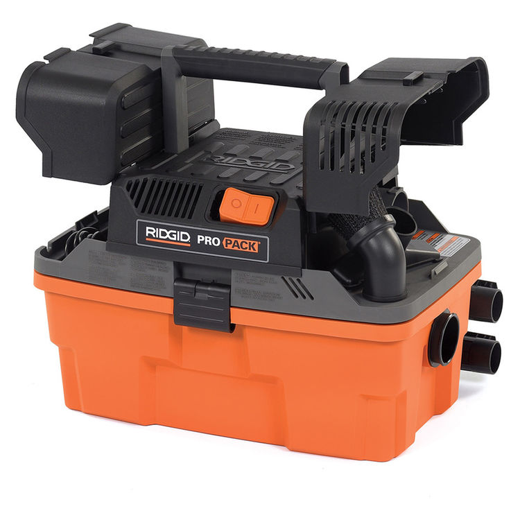 View 7 of Ridgid 50318 Ridgid 4500RV 4.5 Gallon Propack Wet/Dry Vacuum, 50318