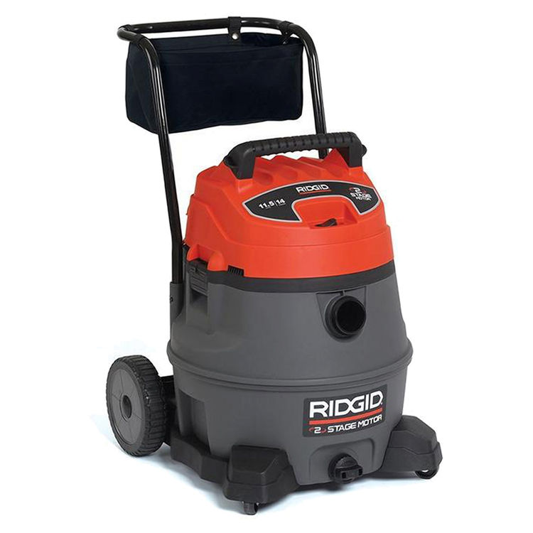 View 6 of Ridgid 50358 Ridgid RV2400A Industrial Fourteen Gallon Two Stage Wet/Dry Vacuum With Cart