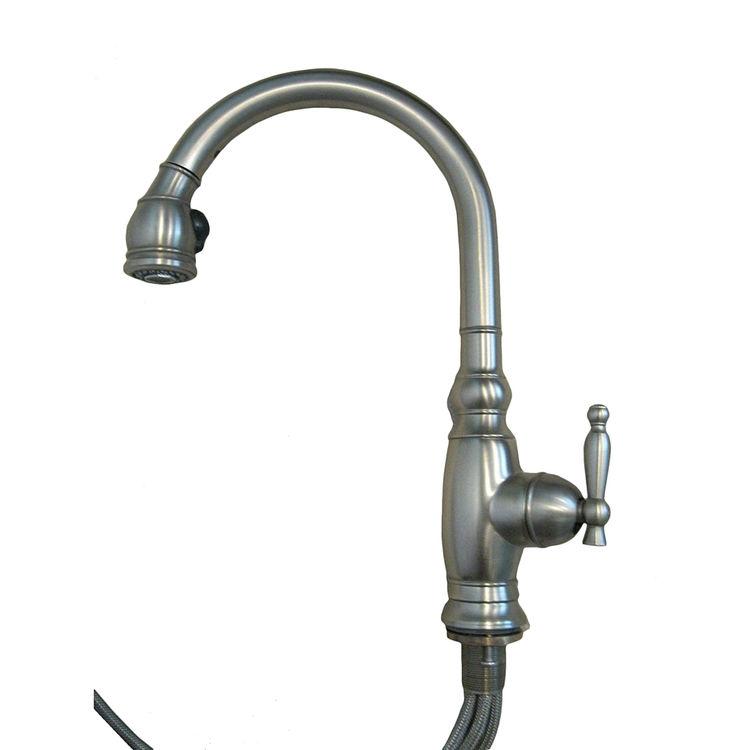 View 3 of Kohler 690-VS Kohler K-690-VS Vinnata Pull-Down Kitchen Faucet - Stainless