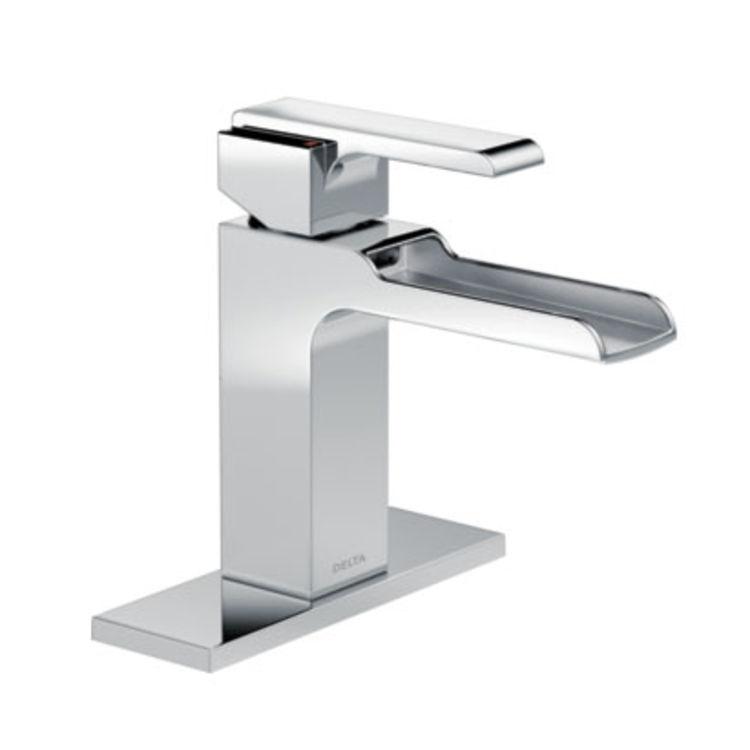 View 3 of Delta 568LF-LPU Delta 568LF-LPU Ara Single Handle Channel Bathroom Faucet, Chrome