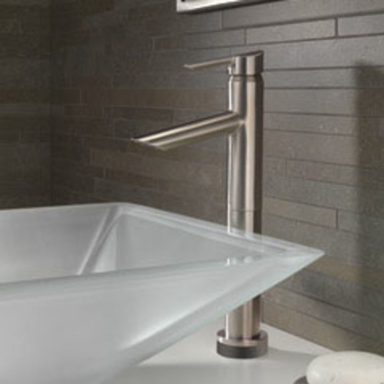 View 3 of Delta 761T-SS-DST Delta 761T-SS-DST Compel Single Handle Lavatory Vessel Faucet,  Brilliance Stainless
