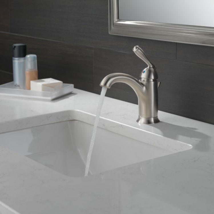 View 4 of Peerless P188627LF-BN Peerless P188627LF-BN CLAYMORE Single Handle Lavatory Faucet - Brushed Nickel