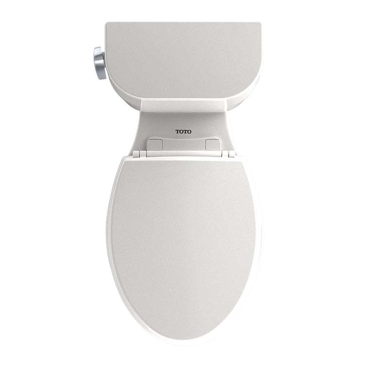 View 6 of Toto CST244EF#12 TOTO Entrada Two-Piece Elongated 1.28 GPF Universal Height Toilet, Sedona Beige - CST244EF#12
