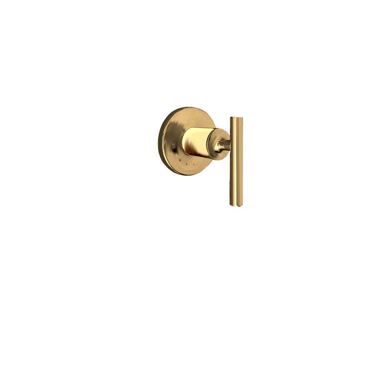 View 3 of Kohler T14490-4-BGD Kohler K-T14490-4-BGD Brushed Gold Purist Volume Control Valve Trim