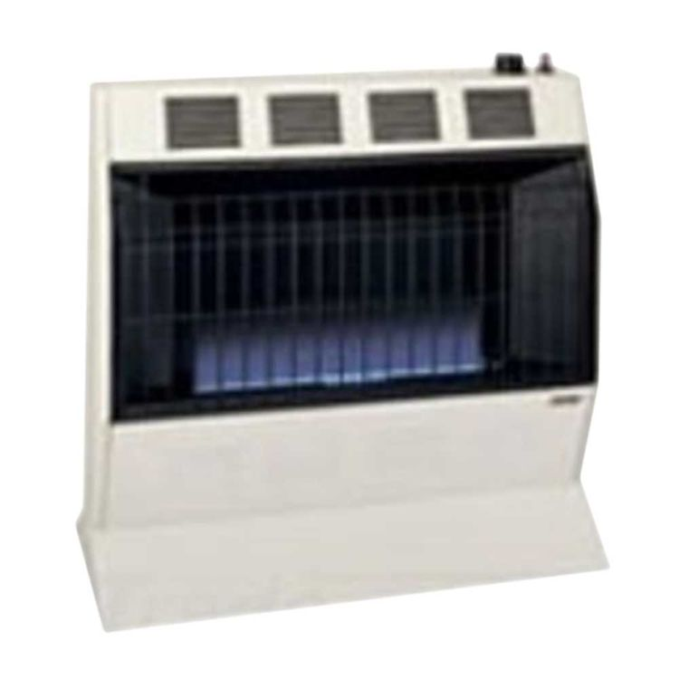 View 3 of Cozy BFT201 Cozy BFT201 Vent-Free Blue Flame Heater-20,000 BTU, Neutral Bone