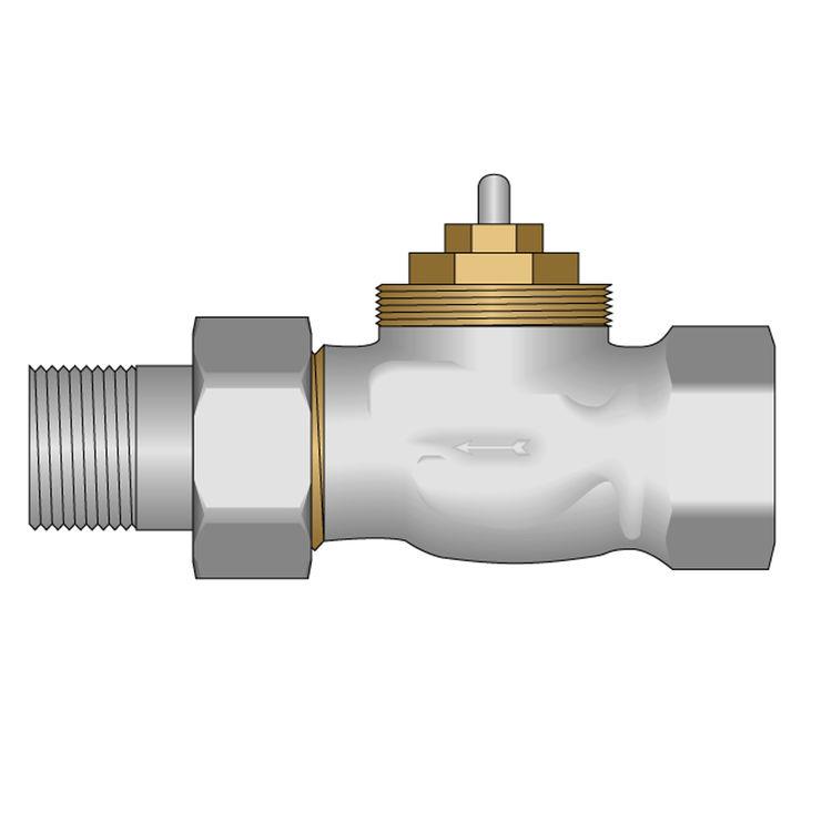 Heatlink 62016 Heatlink 62016 95mm Straight Zone Valve (1/2