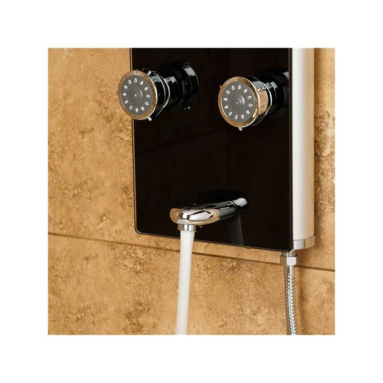 View 3 of Pulse 1015-2 Pulse 1015-2 Makena II ShowerSpa System, Black Finish