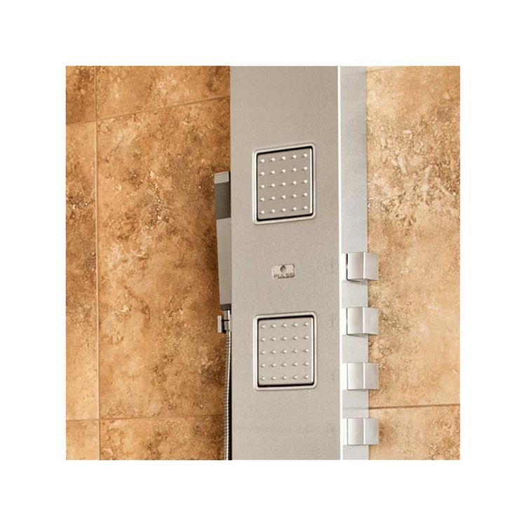 View 3 of Pulse 1034 Pulse 1034 Waimea Oversized Body Jets ShowerSpa, Brushed Stainless Steel