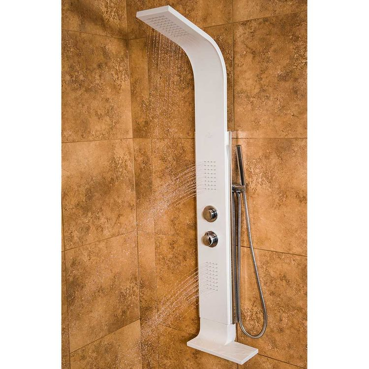 View 4 of Pulse 1047W-CH Pulse 1047W-CH Mirage ShowerSpa w/ Two Oversized Single-Function Spray, Chrome